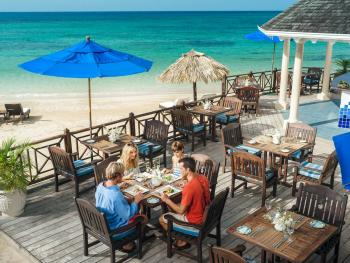 Sandals Royal Plantation  Ocho Rios Jamaica - Royal Cafe on the