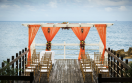 Jewel Paradise Cove Beach Resort  - Dock Wedding Setup