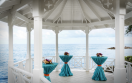 Jewel Paradise Cove Beach Resort  - Wedding Gazebo Setup