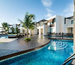 Azul Beach Resort Riviera Maya Mexico - Swim Up Connoisseur Suite