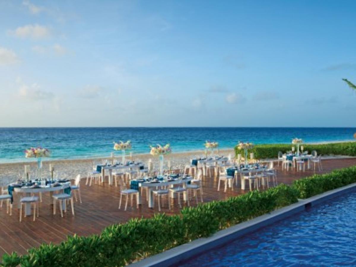Dreams Riviera Cancun Mexico - Wedding Dinner Gala