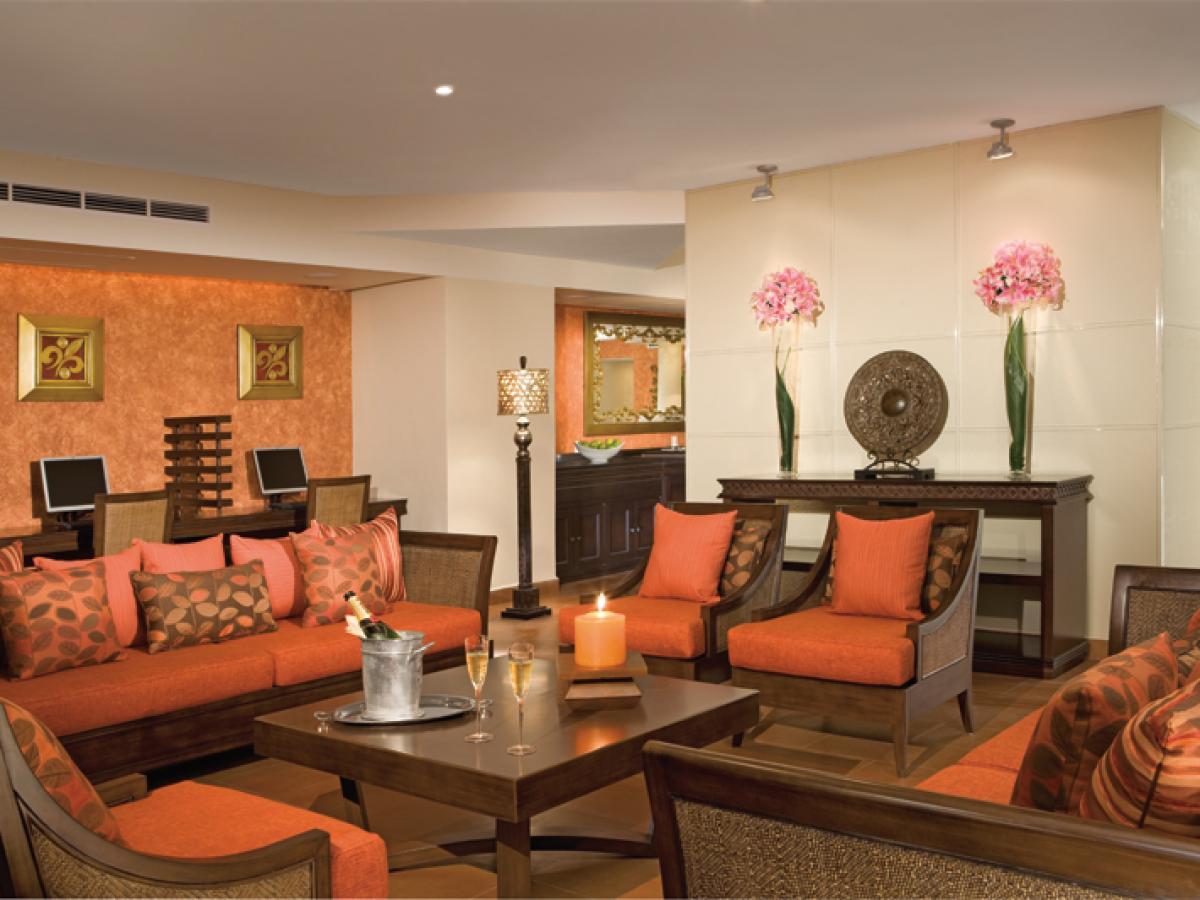 Dreams Riviera Cancun Resort & Spa - Preferred Club Lounge