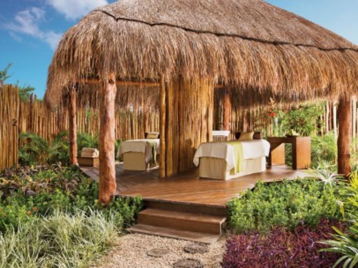 Dreams Riviera Cancun Resort & Spa -Outdoor Spa Cabin