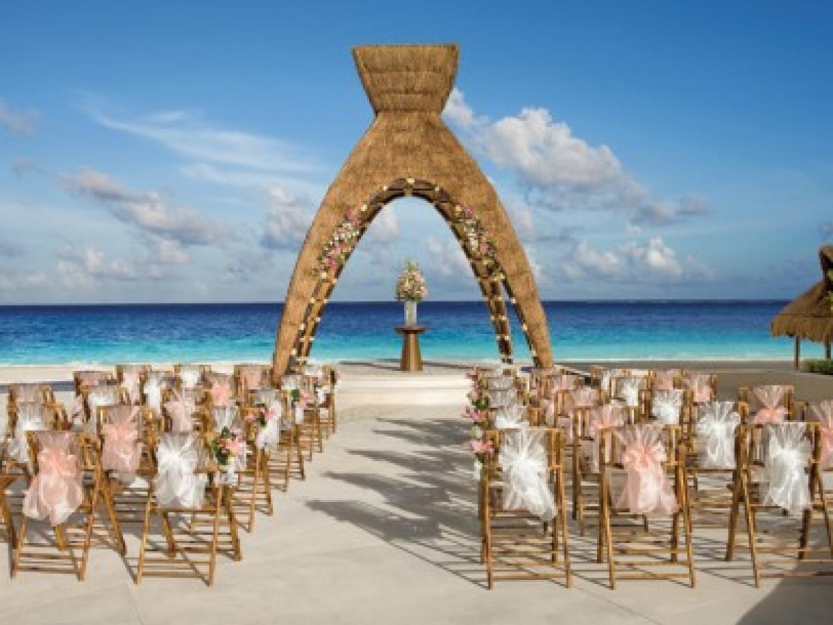 Dreams Riviera Cancun Resort & Spa -Wedding Gazebo