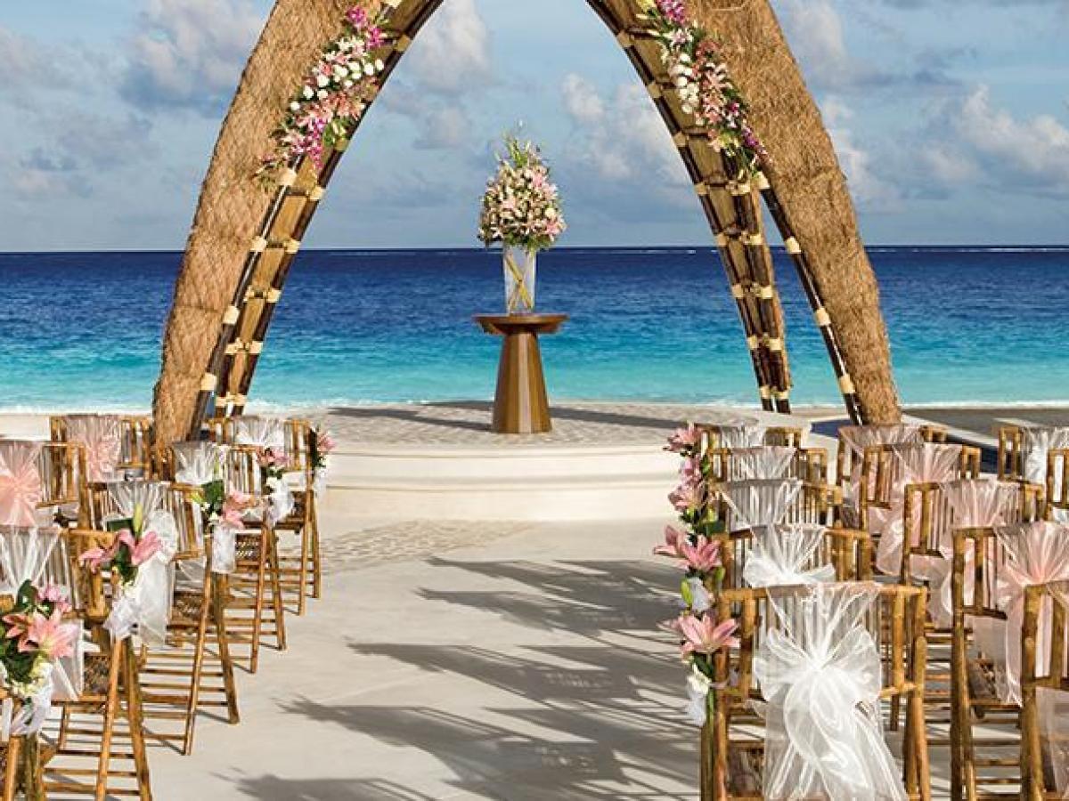 Dreams Riviera Cancum Mexico - Wedding