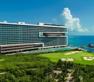Dreams Vista Cancun Resort and Spa Aerial View
