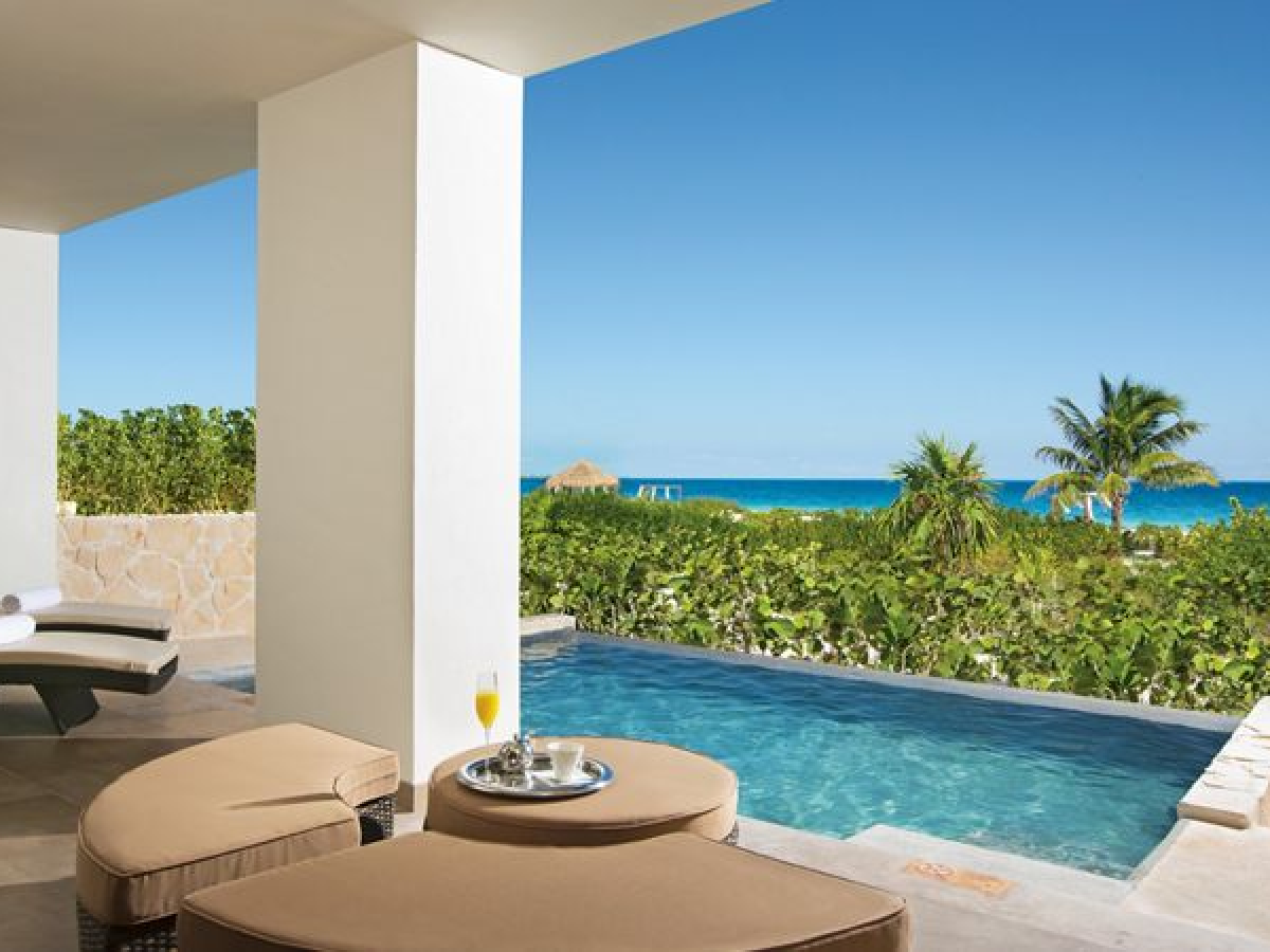 Dreams Playa Mujeres - Preferred Club Master Suite  Ocean Front with Private Poo