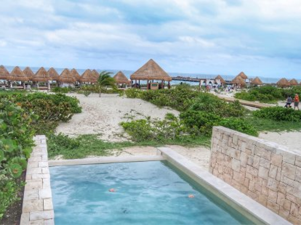 Dreams Playa Mujeres - Preferred ClubJunior Suite Ocean Front with Private Pool