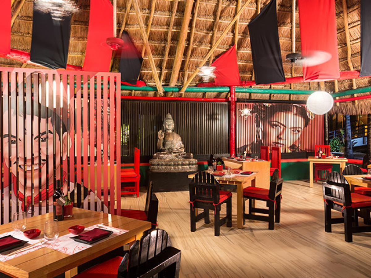 Grand Oasis Sens Cancun Mexico - Maki Taco Restaurant