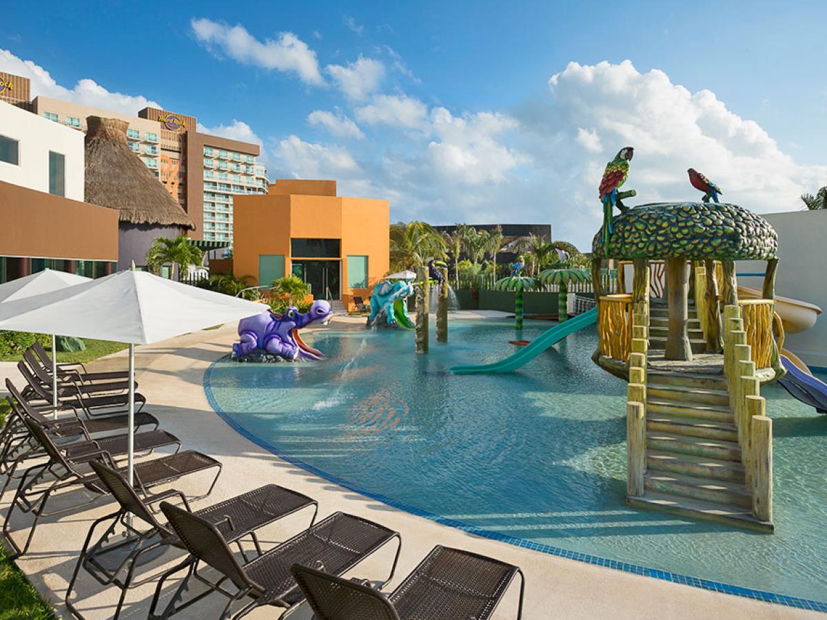 Hard Rock Cancun Mexico - Kids Water Park