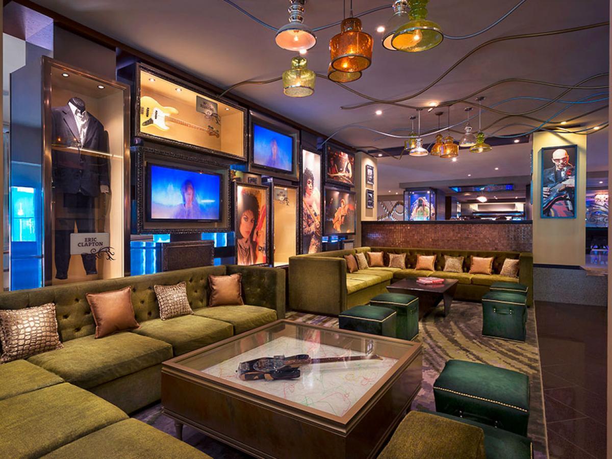 Hard Rock Cancun Mexico - Lobby Bar
