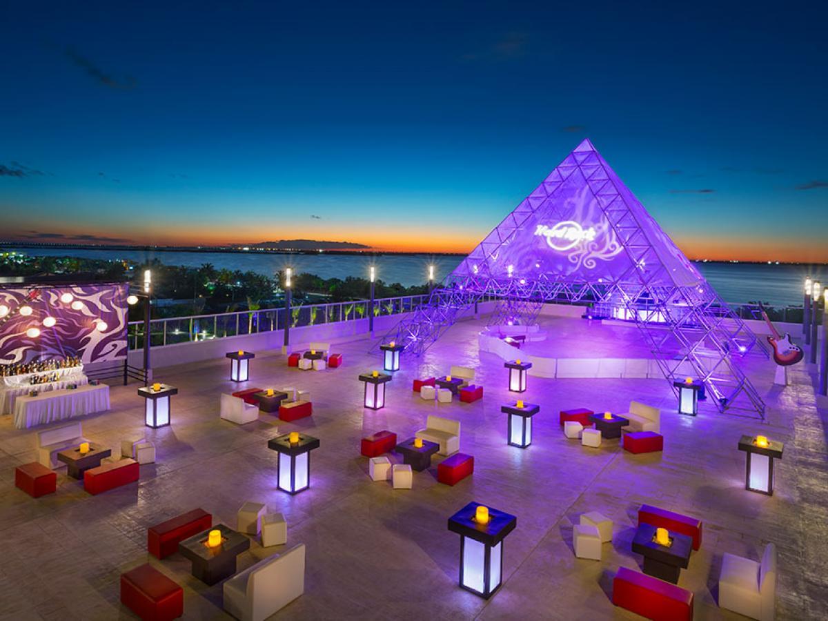 Hard Rock Cancun Mexico - Amphitheater