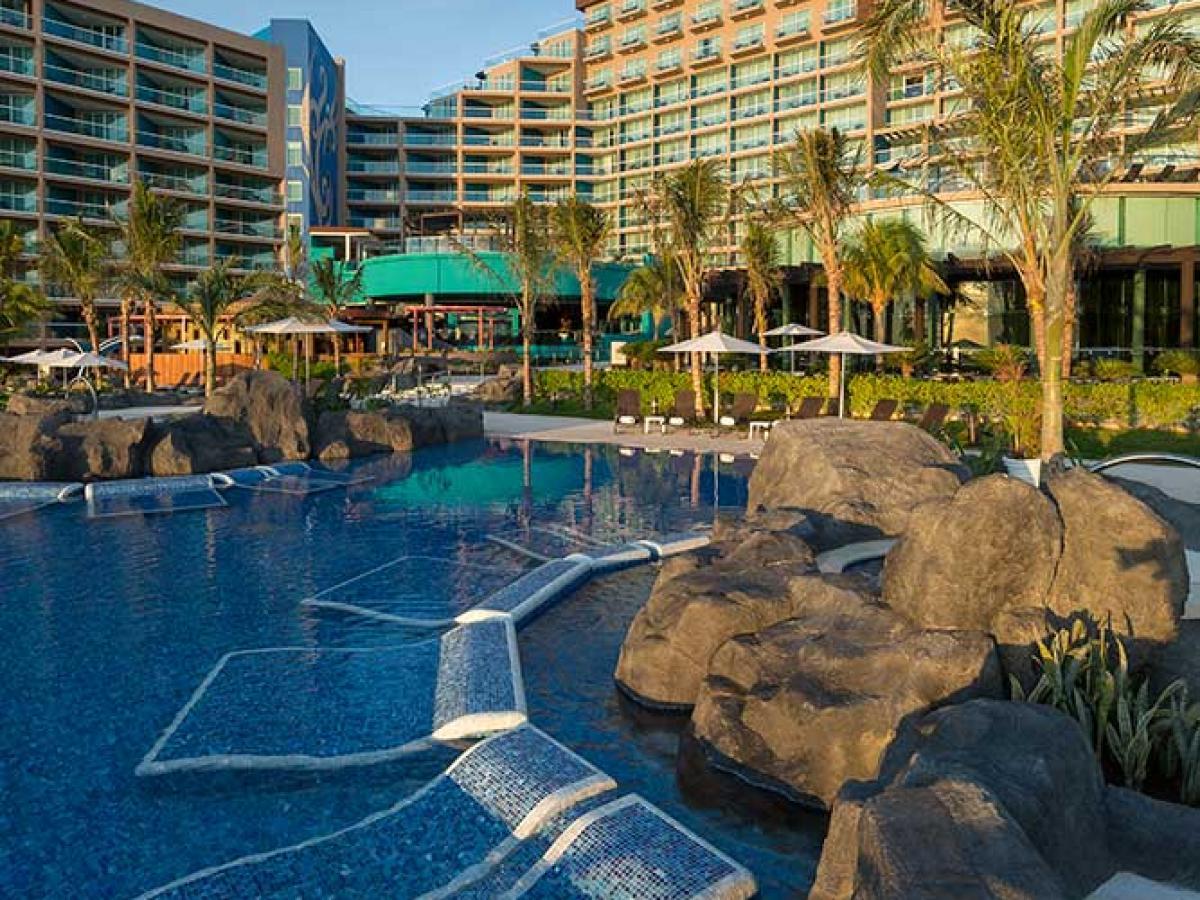 Hard Rock Cancun Mexico - Swimming Pools