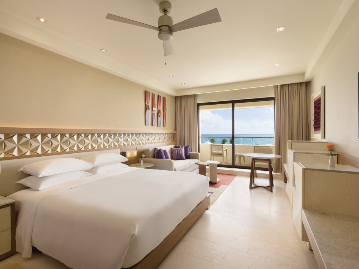 Hyatt Ziva Cancun Club Ocean Front King Room