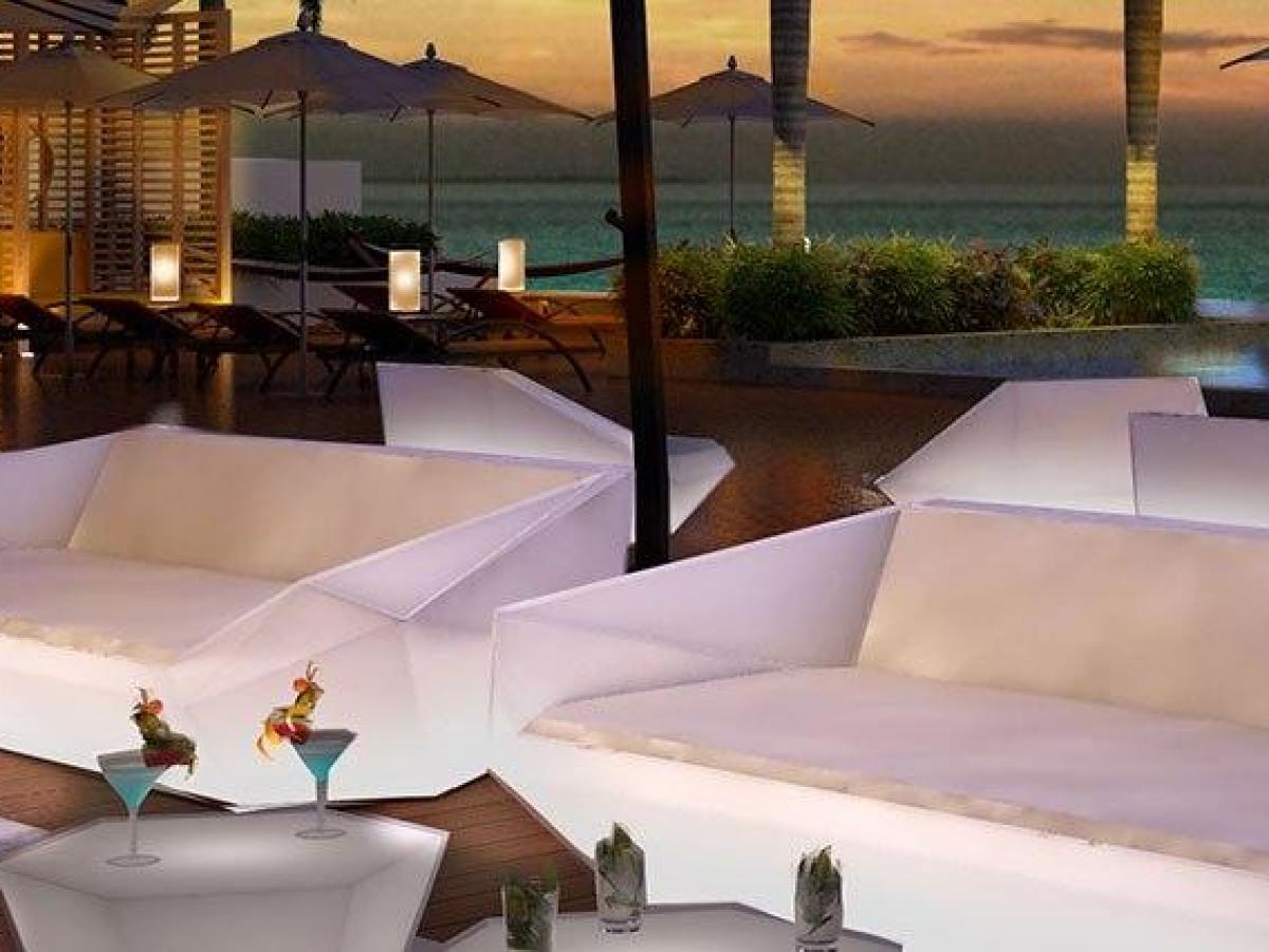 Hyatt Ziva Cancun Mexico - Bar Del Mar