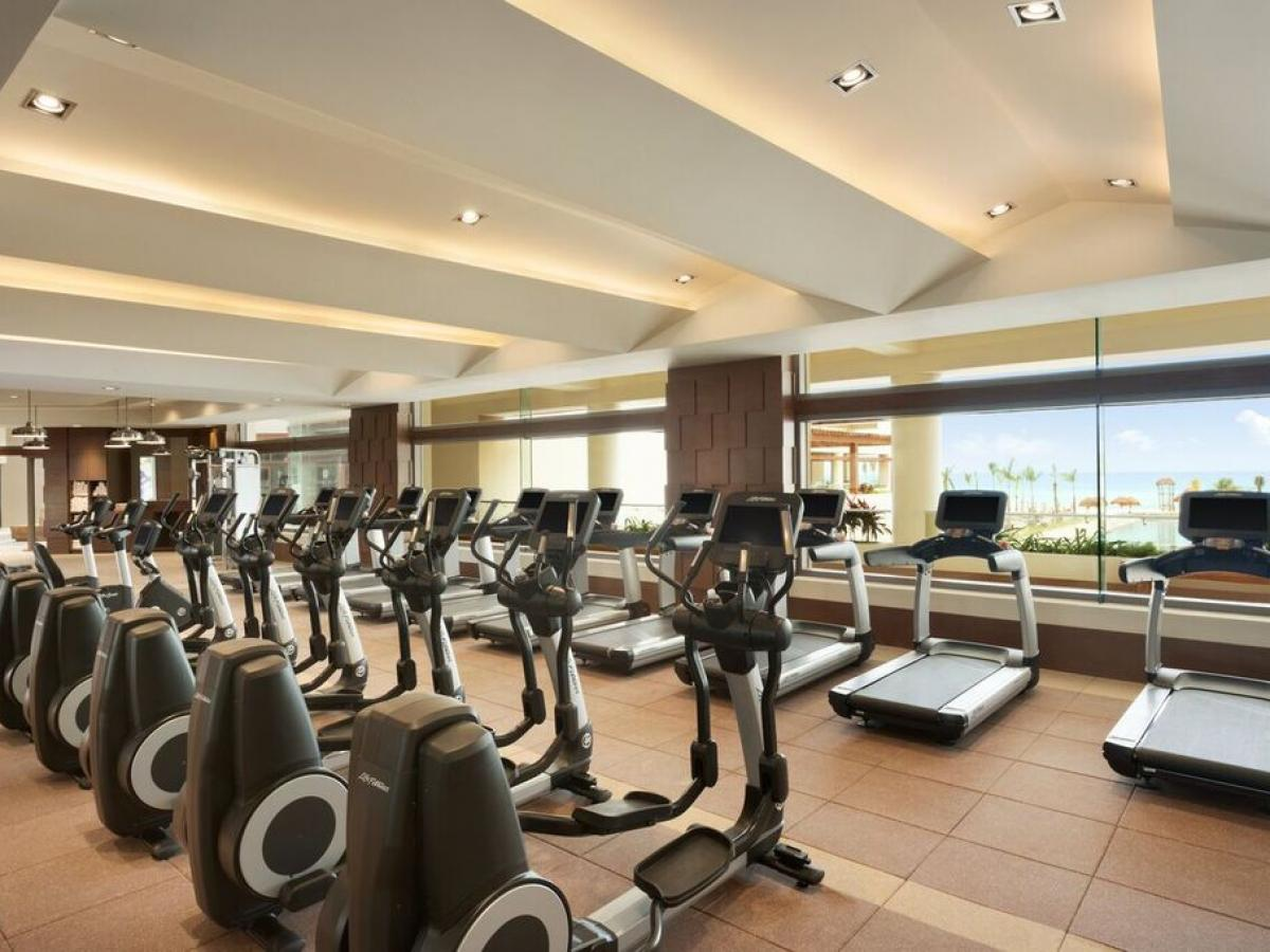 Hyatt Ziva Cancun Mexico - Gym