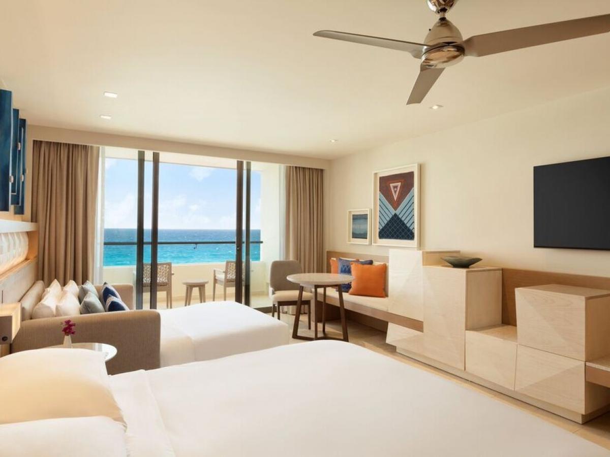 Hyatt Ziva Cancun Mexico - Ziva Club Ocean Front King
