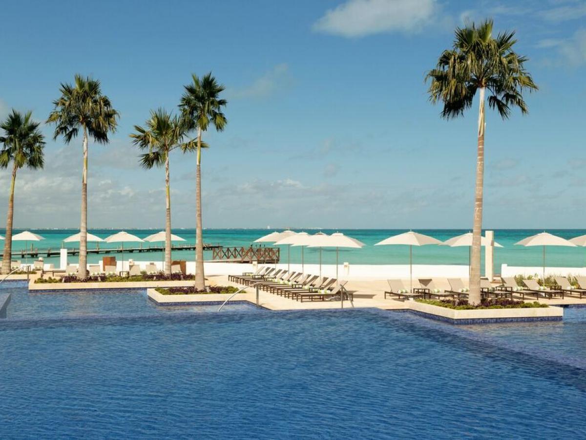 Hyatt Ziva Cancun Mexico - Swimming Pools