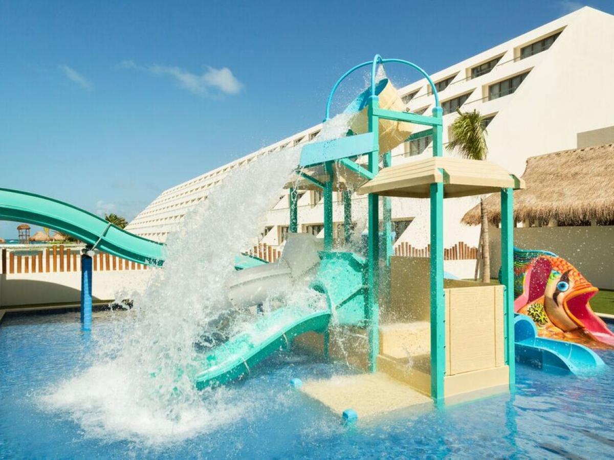 Hyatt Ziva Cancun Mexico - Kidz Water Park