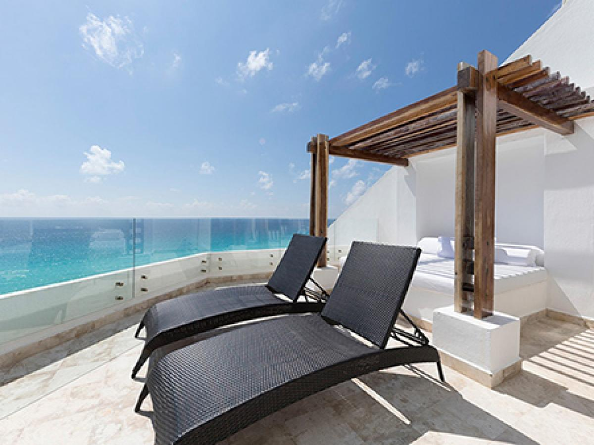Melody Maker Cancun - Corner Junior Suite Ocean View