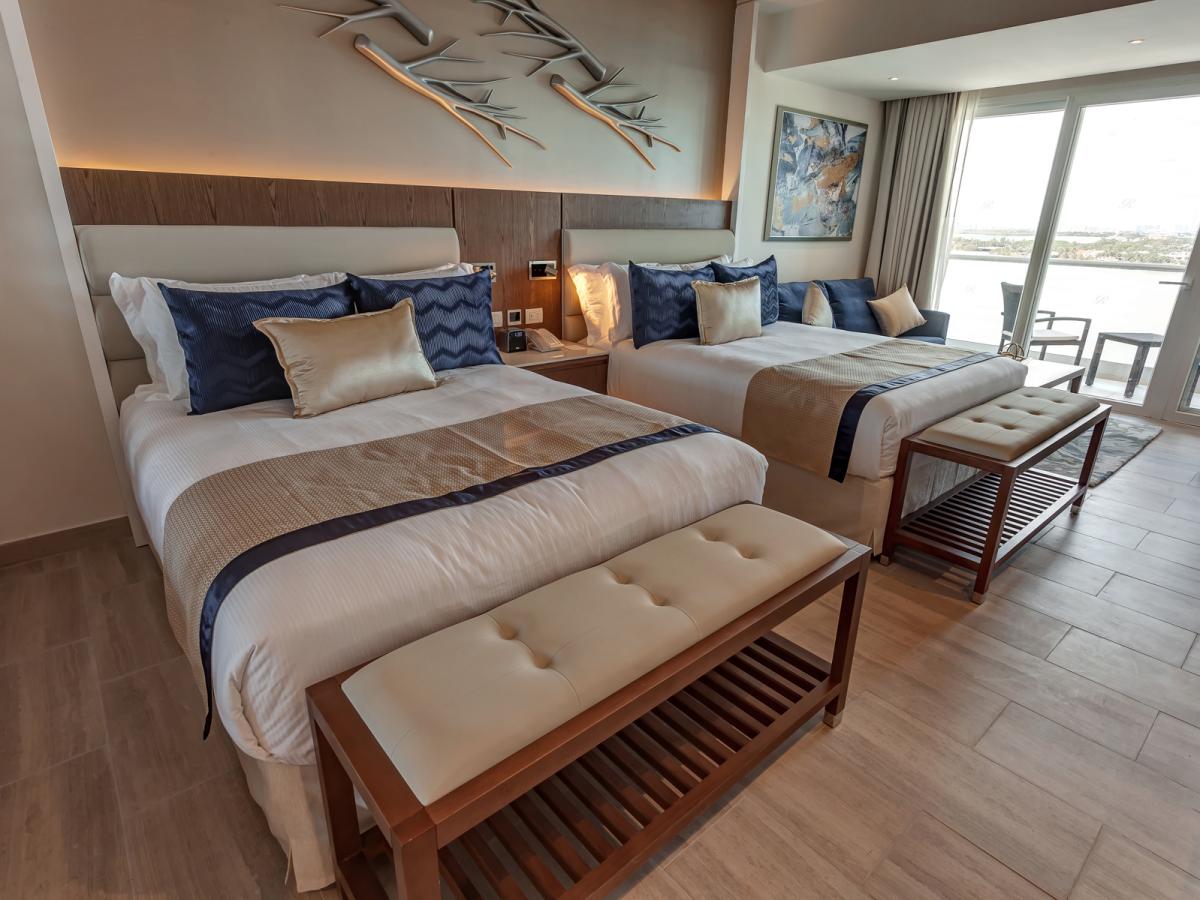 Chic Cancun Luxury Junior Suite Sunset