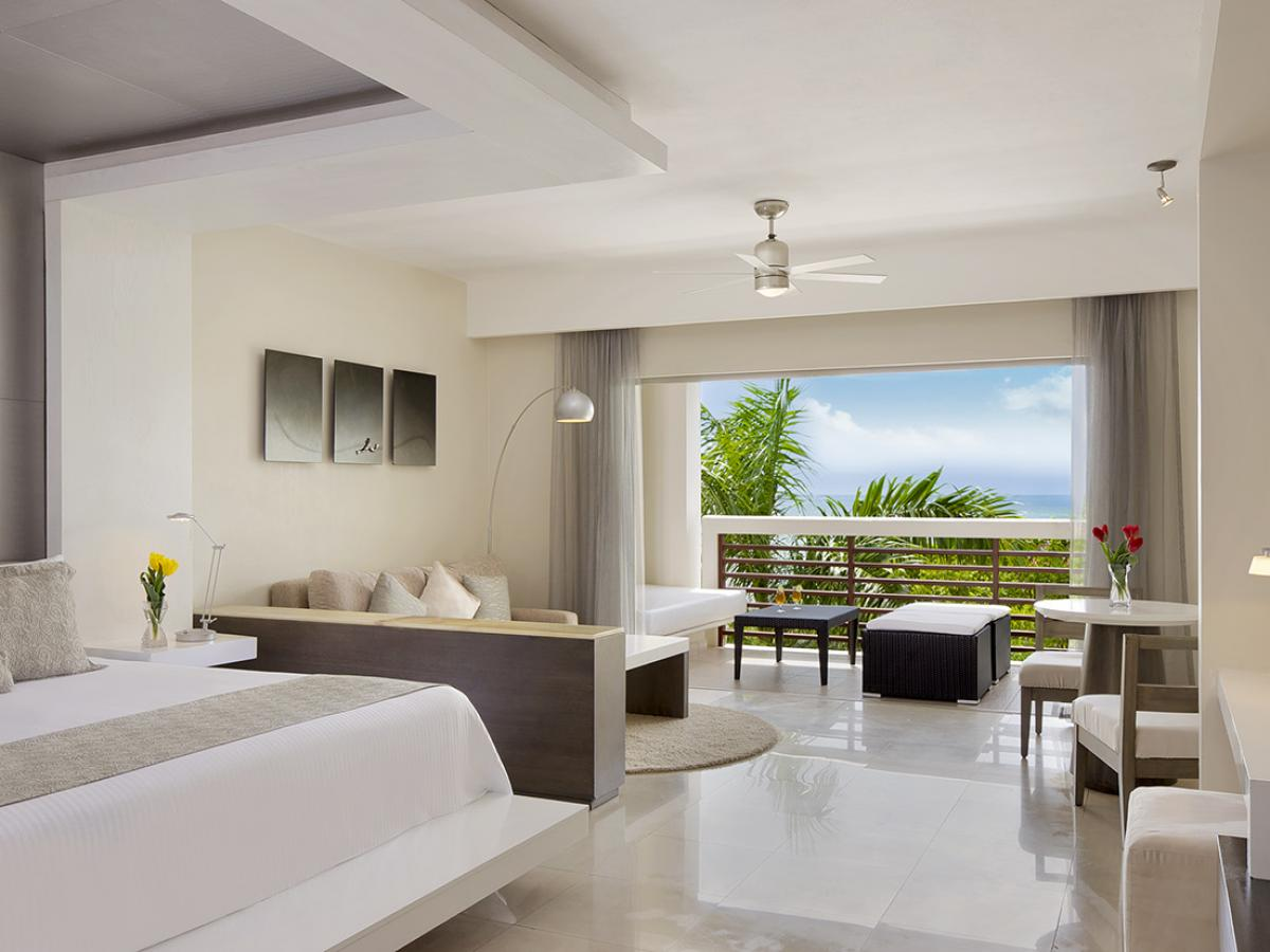 Secrets Silversands Riviera Cancun- Junior Suite Partial Ocean View