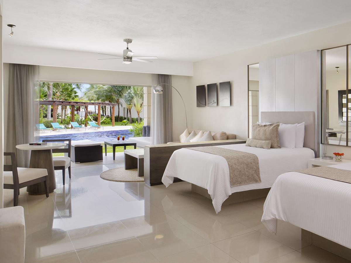 Secrets Silversands Riviera Cancun- Junior Suite Swim Out