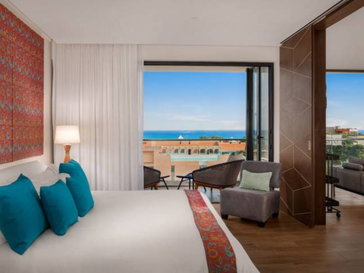The Fives Downtown Playa Del Carmen One Bedroom suite