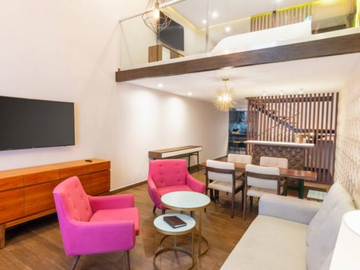 The Fives Downtown Playa Del Carmen Superior One bedroom mezzanine suite