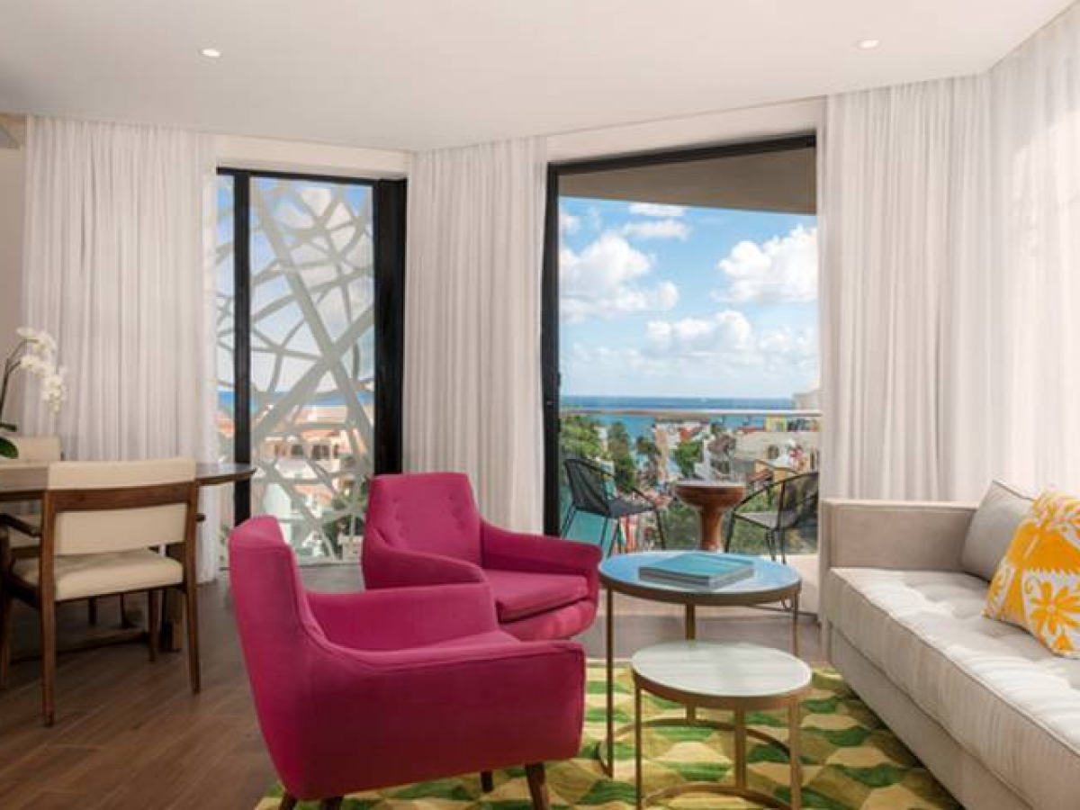 The Fives Downtown Playa Del Carmen Two bedroom suite