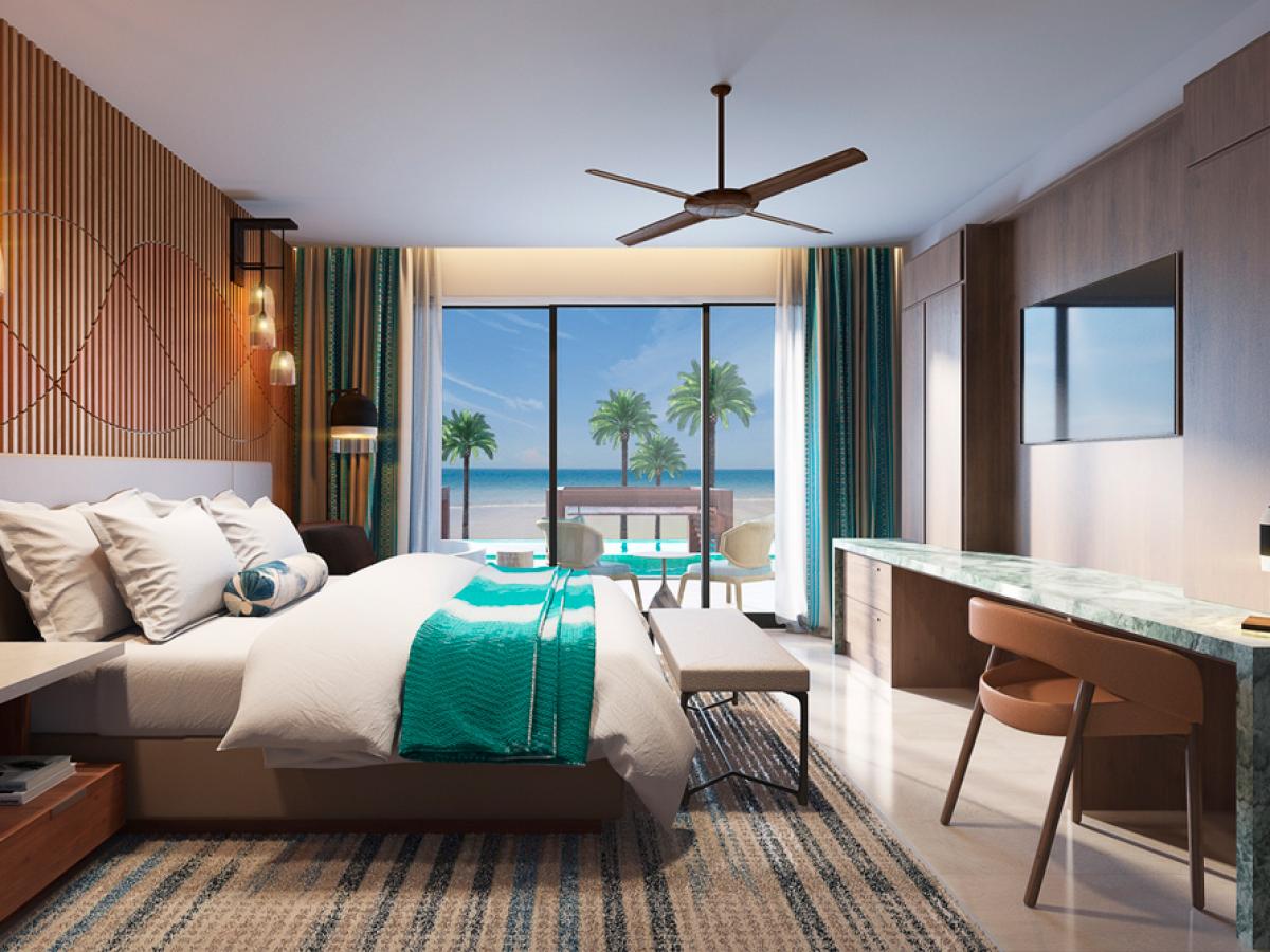 Hard Rock Hotel Los Cabos Rock Suite Platinum Swim-Up Ocean Front