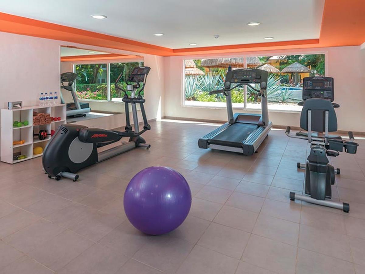 Riu Lupita Playa del Carmen Mexico - Fitness Center
