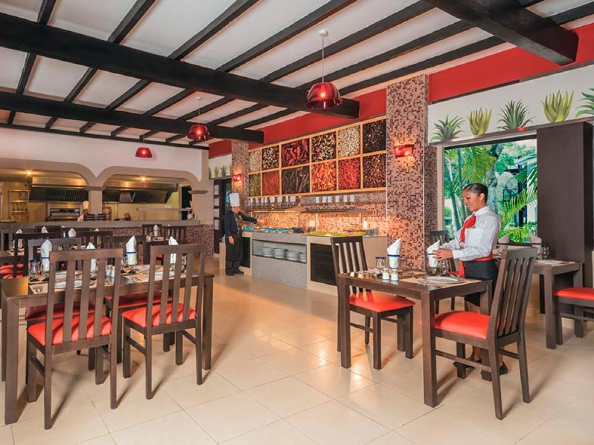 Riu Lupita Playa del Carmen Mexico - Maria Bonita Restaurant