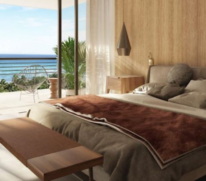 The Fives Oceanfront Puerto Morelos three bedroom oceanfront