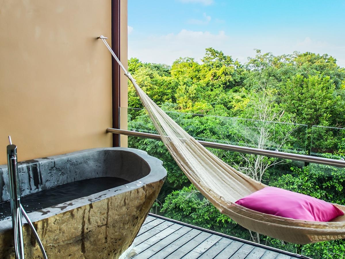 Xcaret suite garden spa