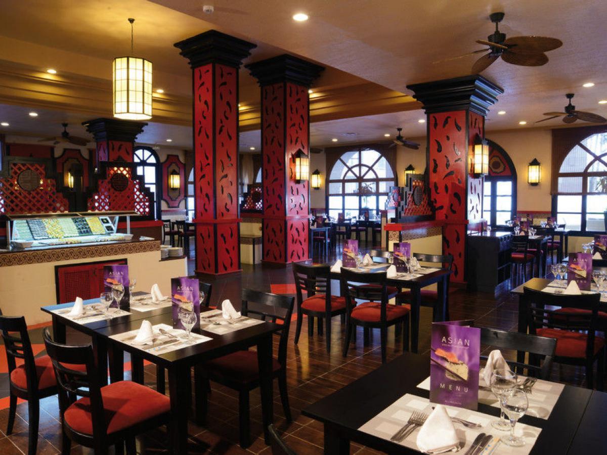 Riu Jalisco Puerto Vallarta Mexico -Gran Dragon Restaurant