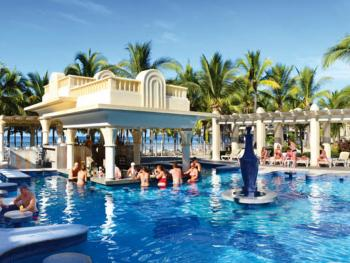 Riu Jalisco Puerto Vallarta Mexico -Bahia Banderas Swim UP Bar