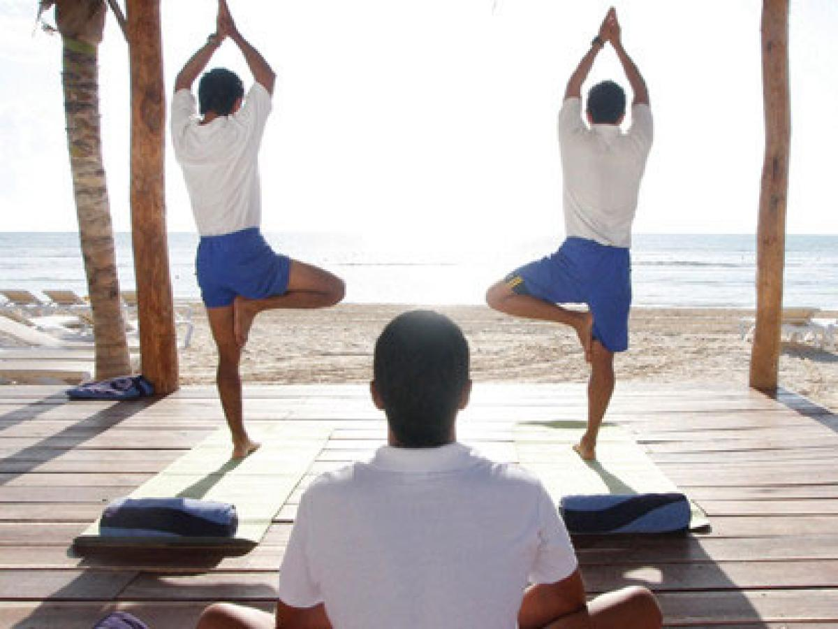 Azul Beach Hotel Riviera Maya Mexico - Fitness Classes