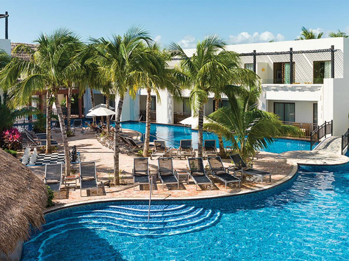 Azul Beach Hotel Riviera Maya Mexico - Swimming Pools