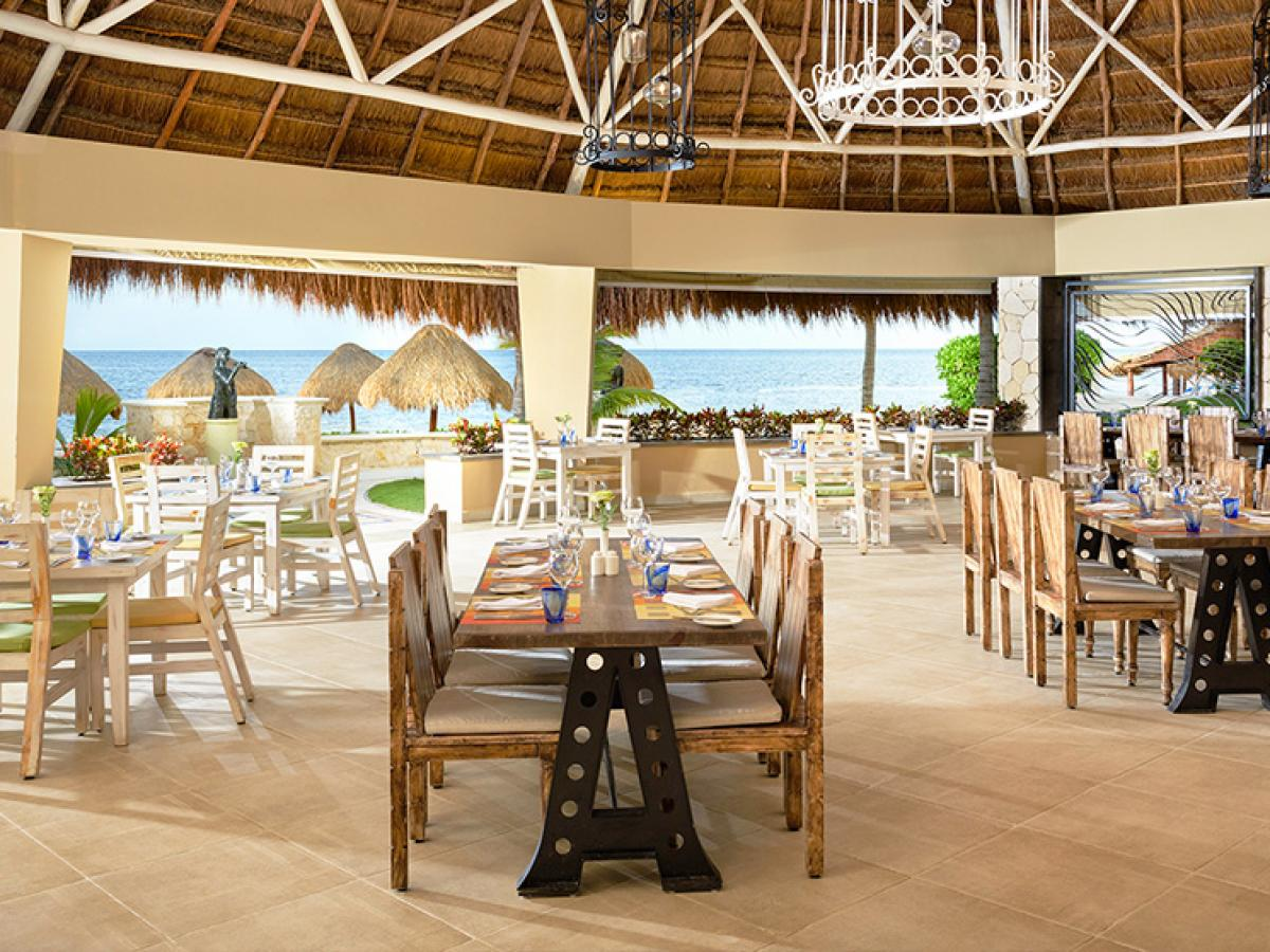 Azul Beach Resort Maya Riviera Mexico - Azul Restaurant