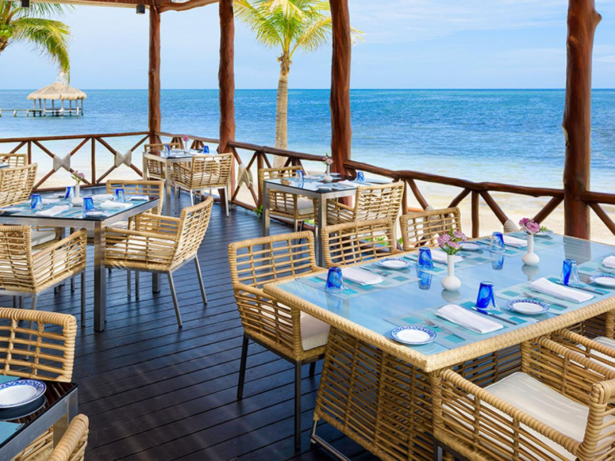 Azul Beach Resort Maya Riviera Mexico - Chil Restaurant