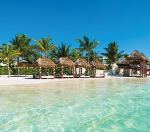 Azul Beach Resort Maya Riviera Mexico - Beach