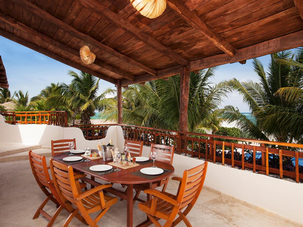 Villa Carola Riviera Maya Mexico Balcony