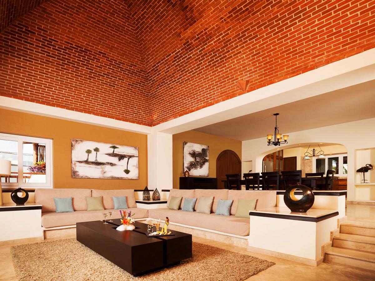 Villa Carola Riviera Maya Mexico Living Room