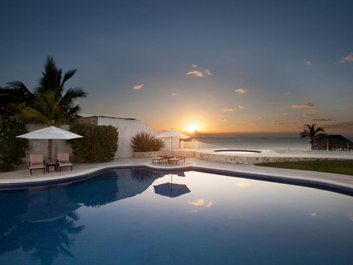 Villa Carola Riviera Maya Mexico Sunrise