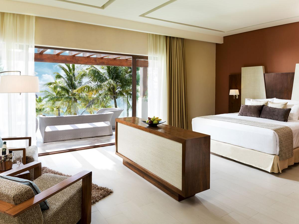 Villa Esmeralda Riviera Maya Mexico  Master  Bedroom 01