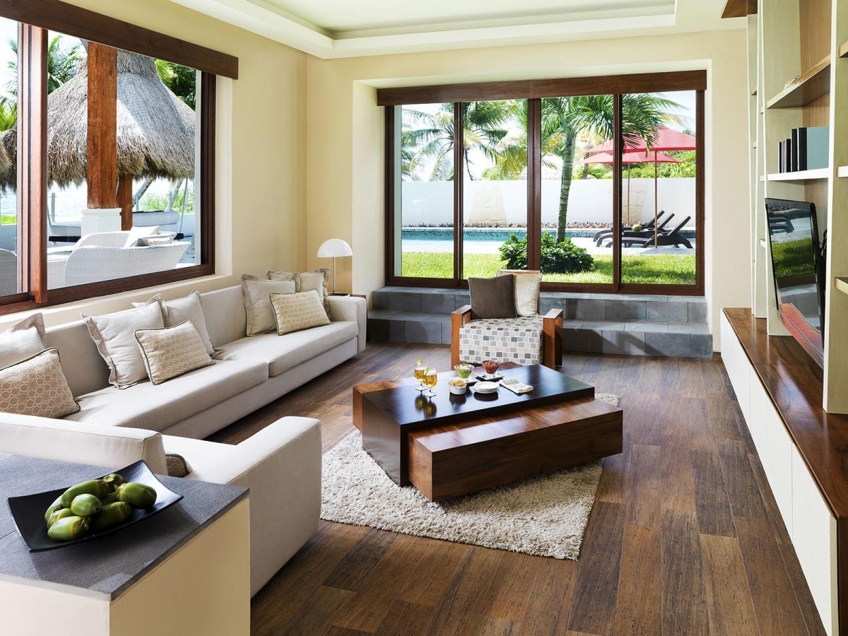 Villa Esmeralda Riviera Maya Mexico Living Room