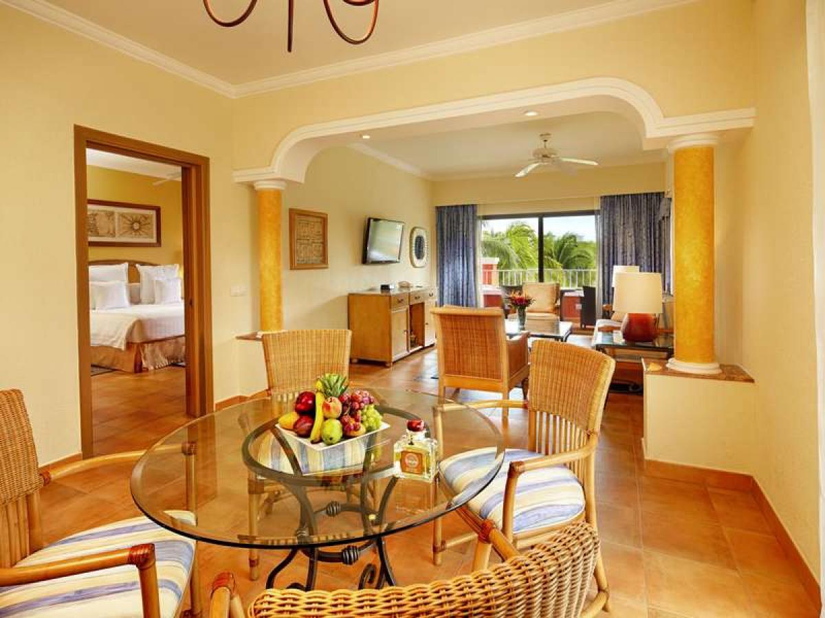 Barcelo Maya Beach Riviera Maya Mexico - Family Room