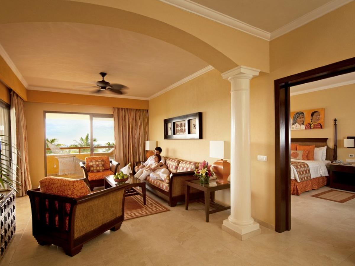 Barcelo Maya Palace Riviera Maya Mexico - Suite Oceanfront Premium Level