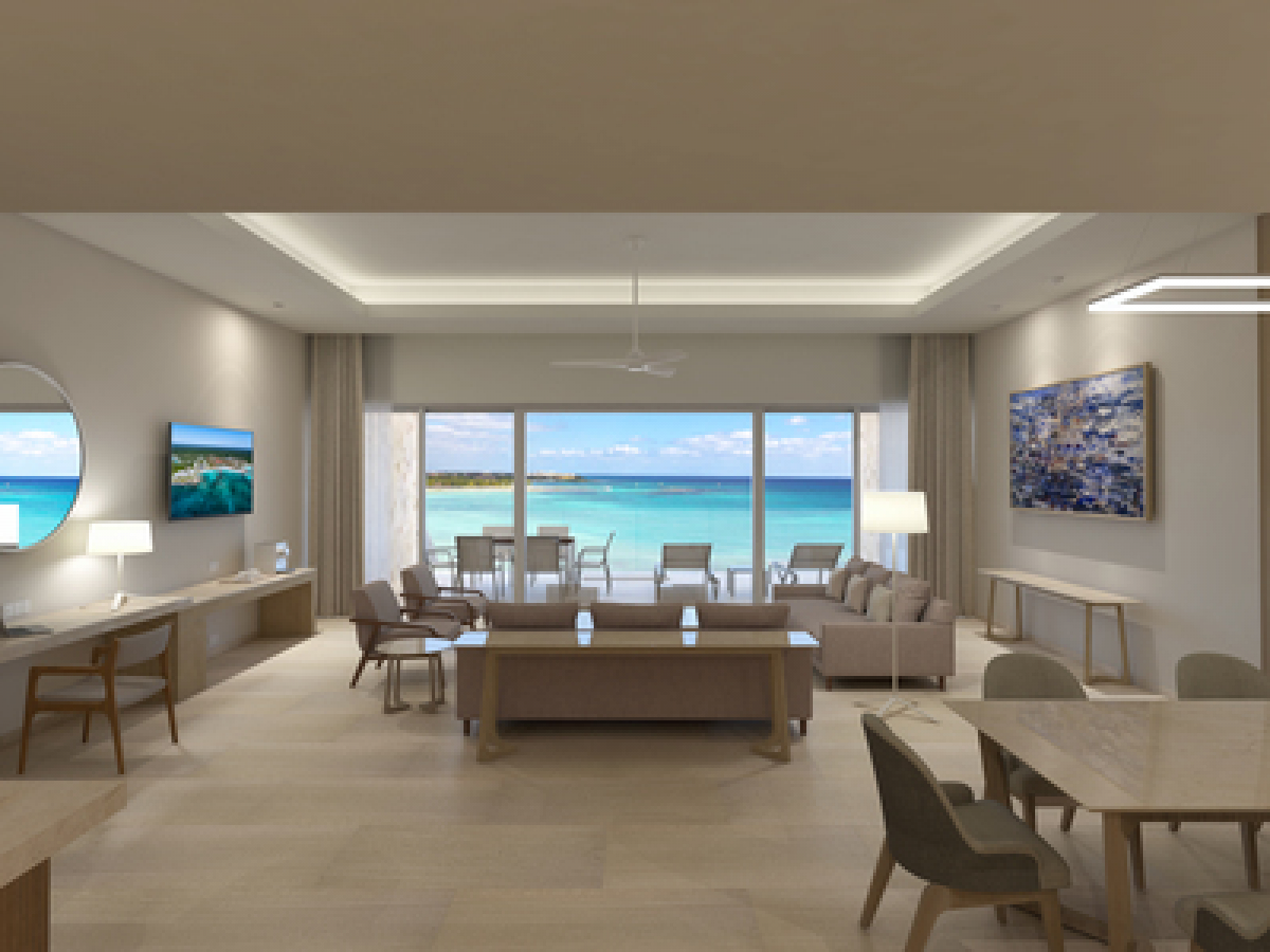 Barcelo Maya Riviera Adults Only- Premium Level Ocean Front Governor Suite